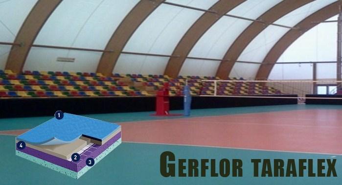 Gerflor taraflex slider vinyl lantai
