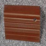 stepnosing karet coklat polos