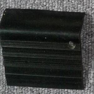 stepnosing karet hitam polos