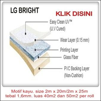 Jual lantai vinyl lg bright wood