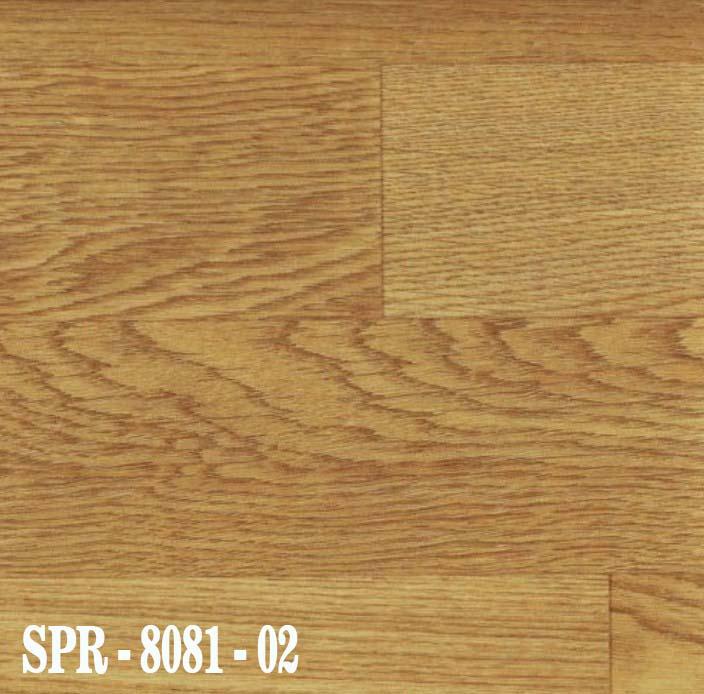 SPR 8081-02 Vinyl Lantai Roll Bermotif Dasar kayu