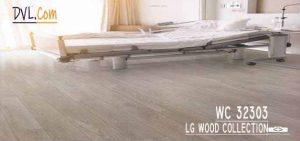 Lg Wood Collection Vinyl - Lantai Rumah Sakit Motif Kayu