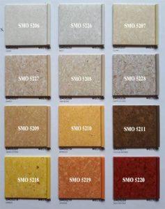 Lg Medistep Origin Vinyl, Lantai Dengan Kualitas Deep Clean UV, High Density PUR Treatment Homogeneous Sheet Vinyl Flooring