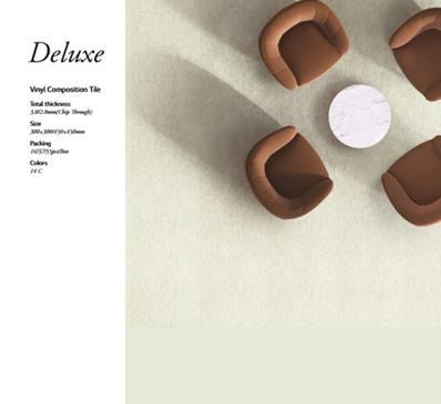 LG Hausys Deluxe Vinyl Tile